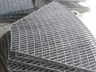 platform steel bar grating
